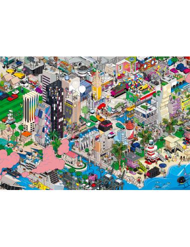 marsdesign-eBoy-Tableau-Miami-Cadeau-Idée-PixelArt